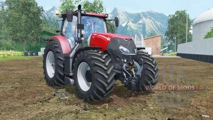 Case IH Optum 300 CVX vivid red para Farming Simulator 2015