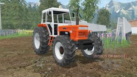 Fiat 1300 DT Super orioles orange para Farming Simulator 2015