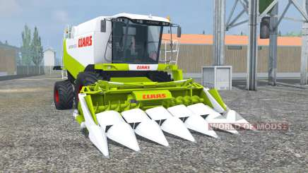 Claas Lexion 550 vivid lime green para Farming Simulator 2013