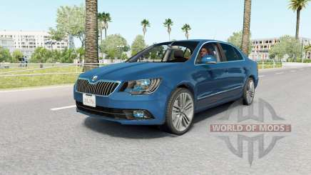 Skoda Superb sedan (3T) 2013 para American Truck Simulator