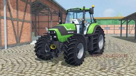 Deutz-Fahr Agrotron TTV 6190 front loader para Farming Simulator 2013