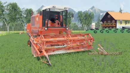 Bizon Super Z056 smashed pumpkin para Farming Simulator 2015