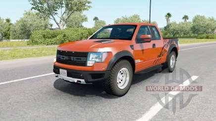 Ford F-150 SVT Raptor SuperCab 2009 para American Truck Simulator