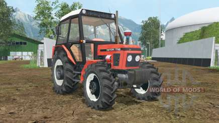 Zetor 7745 wheels shader para Farming Simulator 2015