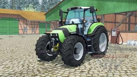 Deutz-Fahr Agrotron TTV 430 MoreRealistic para Farming Simulator 2013