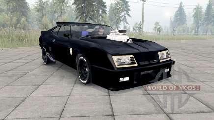 Ford Falcon GT Pursuit Special V8 Interceptor para Spin Tires