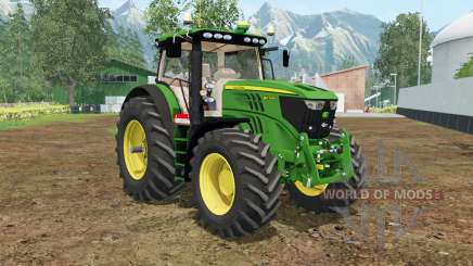 John Deere 6210R north texas green para Farming Simulator 2015