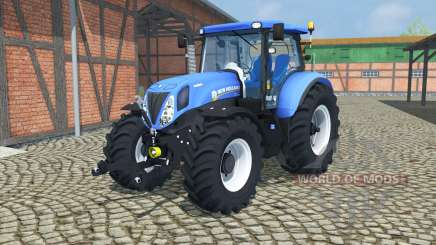 New Holland T7.210 change wheels para Farming Simulator 2013