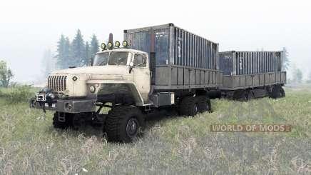 Ural-4320-1912-40 v1.4 para Spin Tires
