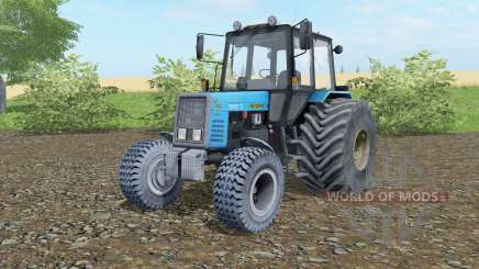MTZ-892 Bielorrússia rodas largas para Farming Simulator 2017