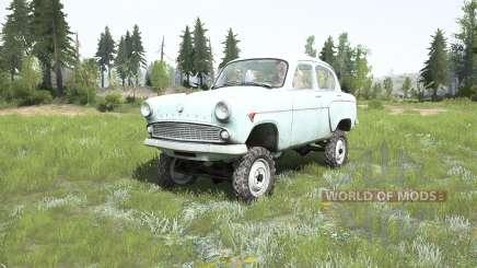 Moskvich-410Н 1958 para MudRunner
