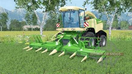 Krone BiG X 580 washable para Farming Simulator 2015