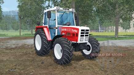 Steyr 8080A front loader para Farming Simulator 2015