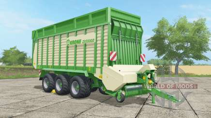 Krone ZX 550 GD malachite para Farming Simulator 2017