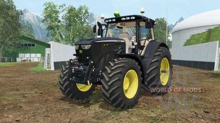 John Deere 6210R Black Edition para Farming Simulator 2015