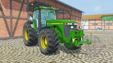 John Deere 8400 ruckfahrkamera para Farming Simulator 2013