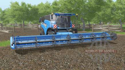 New Holland CR10.90  paint and chassis choice para Farming Simulator 2017