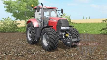 Case IH Puma 160 CVX real lights para Farming Simulator 2017