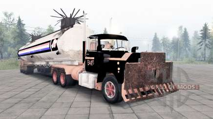 Mack R600 The Tanker para Spin Tires