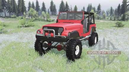 Jeep Wrangler (YJ) 1989 para Spin Tires