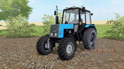 MTZ-Bielorrússia 1021 cor azul para Farming Simulator 2017
