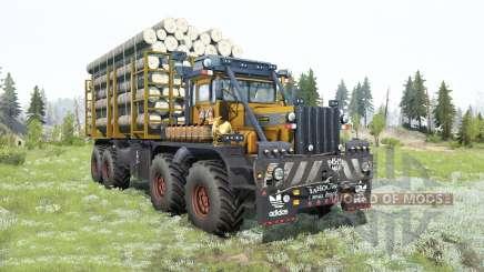 Kirovets K-700A 8x8 para MudRunner