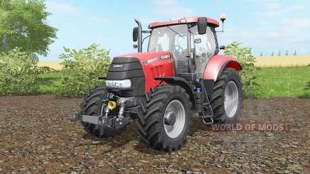 Case IH Puma 160 CVX deep carmine pink para Farming Simulator 2017