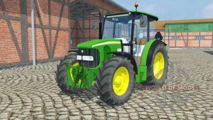 John Deere 5100R  front loader para Farming Simulator 2013