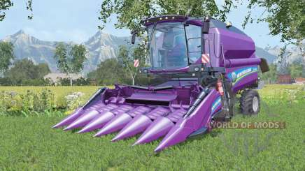 New Holland TC5.90 with two cutters para Farming Simulator 2015