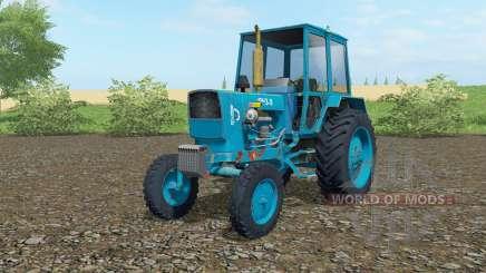 UMZ-6КЛ cor azul para Farming Simulator 2017