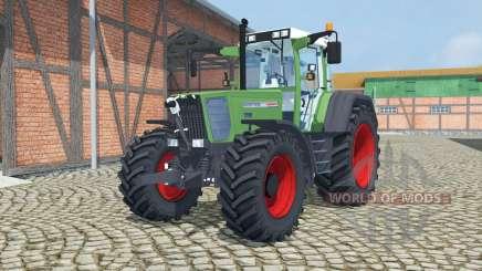 Fendt Favorit 818 Turbomatik sea green para Farming Simulator 2013