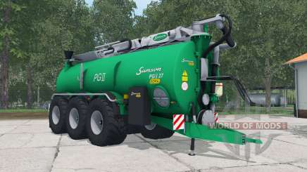 Samson PGII 27 shamrock green para Farming Simulator 2015