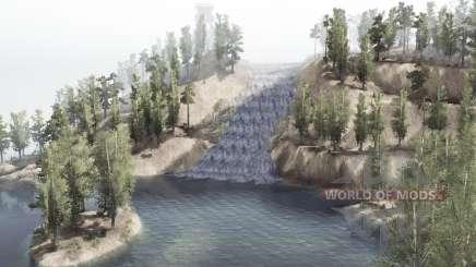 Wildcat Woodlands para MudRunner