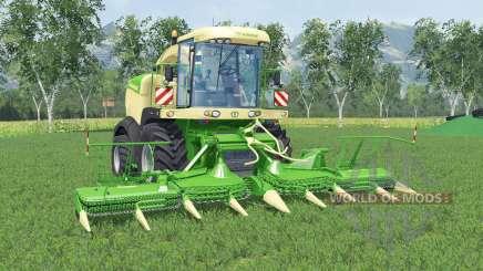 Krone BiG X 580 cal greeɳ para Farming Simulator 2015