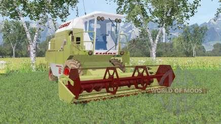 Claas Dominator 86 olive green para Farming Simulator 2015