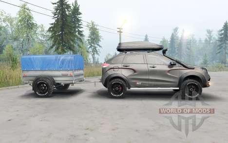 Lada XRay para Spin Tires