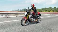 Motorcycle Traffic Pack v3.0.1 para Euro Truck Simulator 2
