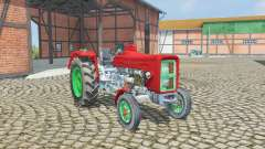 Ursus C-360 amaranth red para Farming Simulator 2013