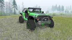 Jeep Wrangler (JK) Trailcat para Spin Tires