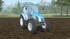 New Holland T4.65 front loader para Farming Simulator 2015