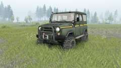 UAZ-31514 _ para Spin Tires