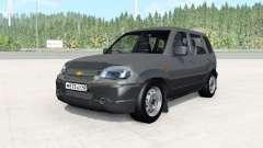 Chevrolet Niva cinza escuro para BeamNG Drive
