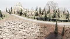 Na fronteira de Utah e Nevada para MudRunner