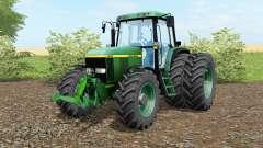 A John Deere 6810 norte do texas greeᶇ para Farming Simulator 2017