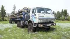 KamAZ-4310 caminhão para MudRunner