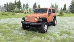 Jeep Wrangler Rubicon (JK) 2007 para MudRunner