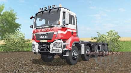 MAN TGS hooklift 2015 para Farming Simulator 2017