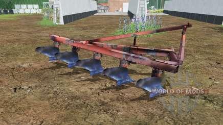 PLN 5-35 moderadamente cor vermelha para Farming Simulator 2015