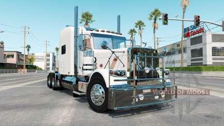 Peterbilt 389 rose white para American Truck Simulator