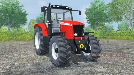 Massey Ferguson 5475 light brilliant red para Farming Simulator 2013